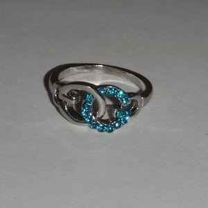 GG Fashion Ring-Aqua